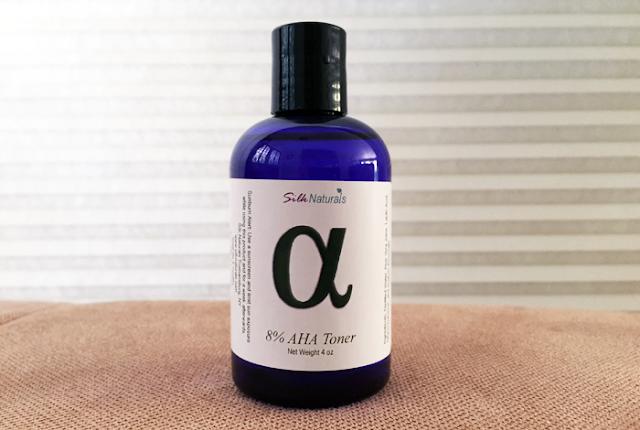 Silk Naturals 8% AHA (Lactic Acid) Toner - The Acne Experiment