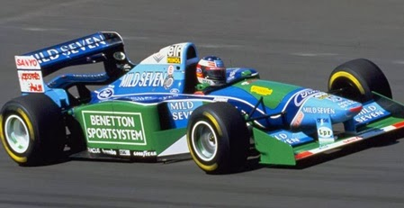 Formula 1 1994 Michael Schumacher/ Benetton