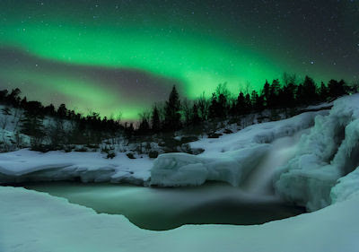 Its a kind of magic - Es una especie de magia - Auroras boreales en el Polo Norte