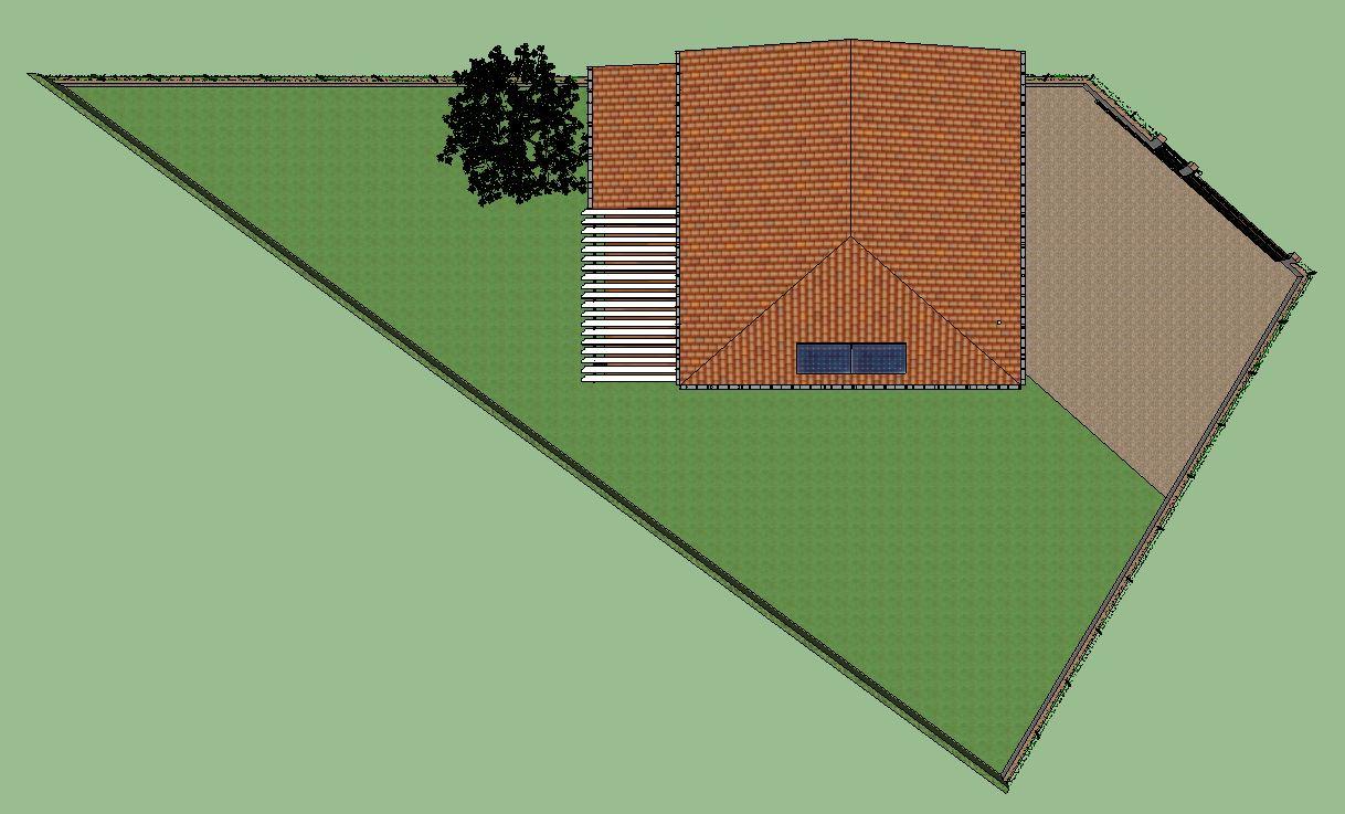 Ma maison bioclimatique une maison bioclimatique c 39 est for Plans de maison construits pour une vue