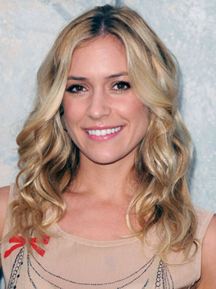 Popular Celebrity Curly Hairstyles Kristin Cavallari