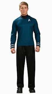Star Trek Movie (2009) - Blue Shirt Deluxe Adult Costume