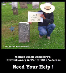 Saving Walnut Creek Cemetery - Perry Township, Fayette County, Ohio