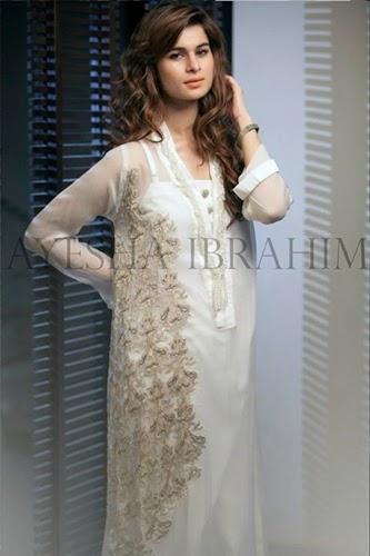 Ayesha Ibrahim Stitched Collection 2014