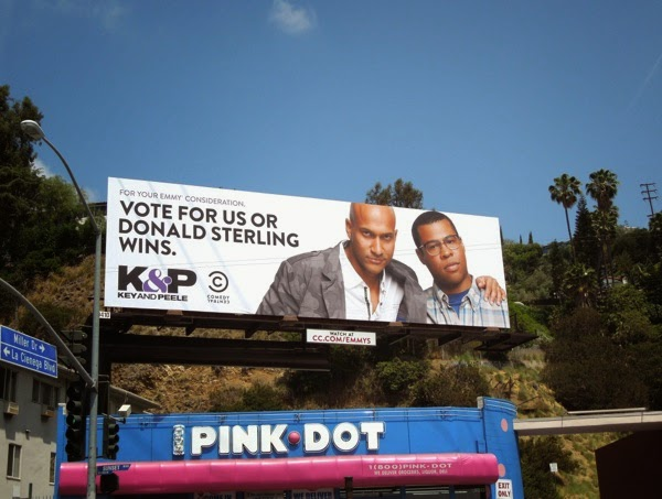 Key Peele Donald Sterling 2014 Emmy Consideration billboard