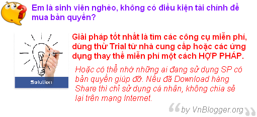 nghiem cam hanh vi download san pham co ban quyen mien phi