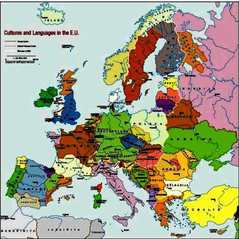 German language and dialect | INDO-EUROPEAN LANGUAGES MAP