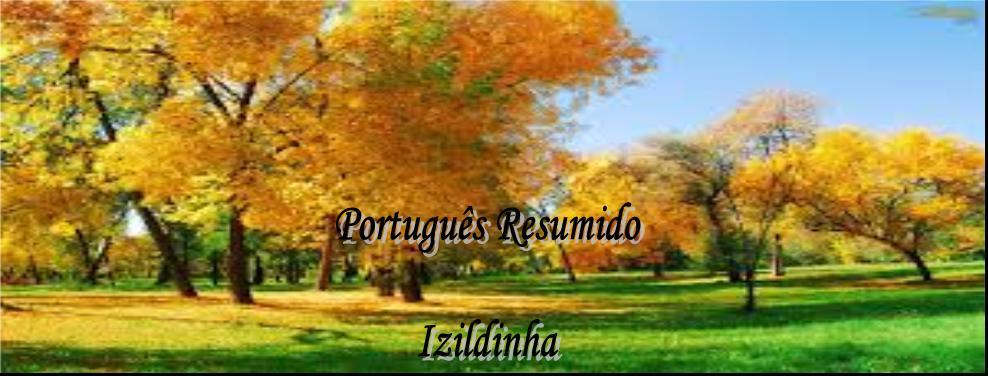 PORTUGUÊS RESUMIDO