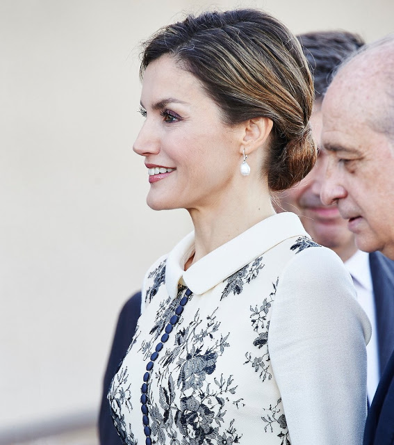Queen Letizia Delivers The Spanish Flag To The National Police
