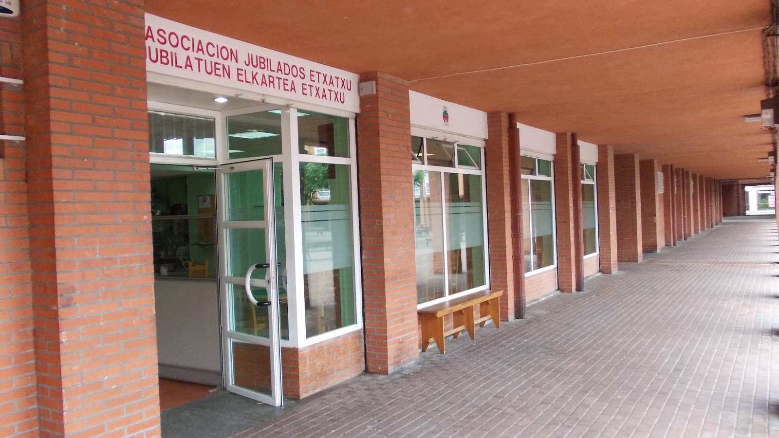 Local de jubilados de Etxatxu