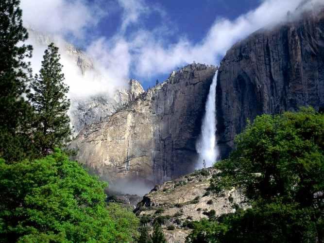Yosemite Falls, Air Terjun yang tinggi