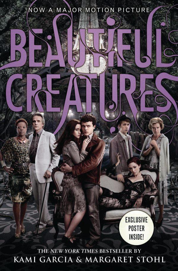 Beautiful Creatures Book Cover : Un simple suspiro en mundo de libros hermosas criaturas