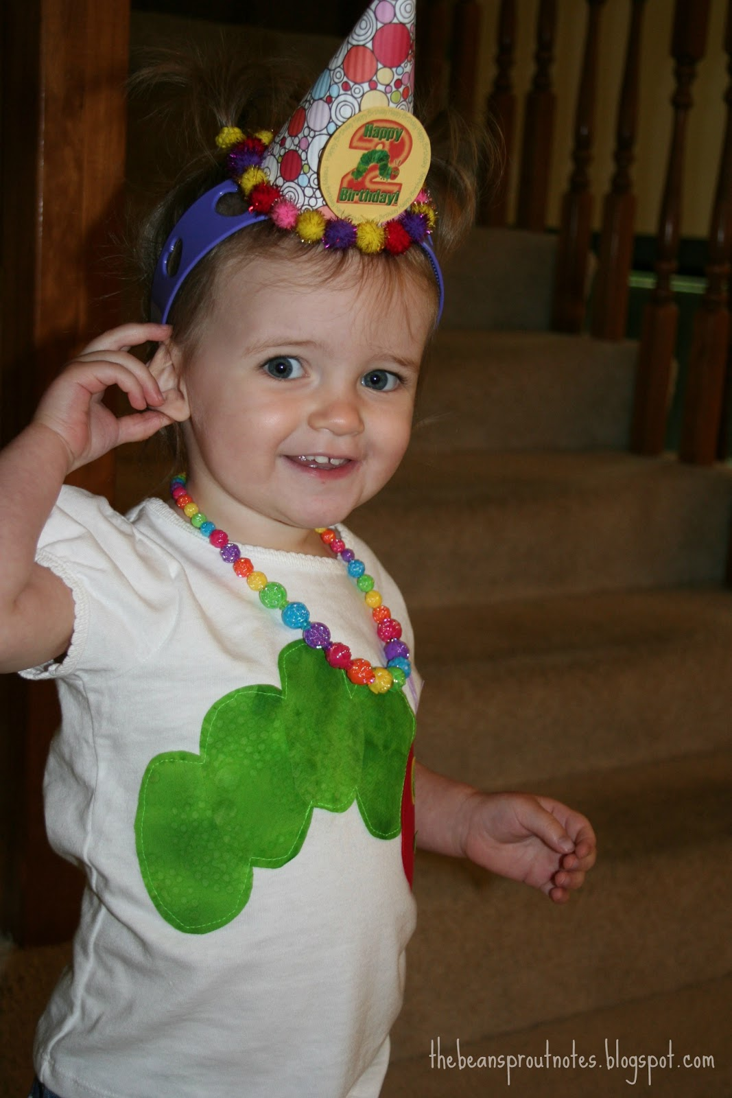 A Very Hungry Caterpillar 2nd Birthday Party
