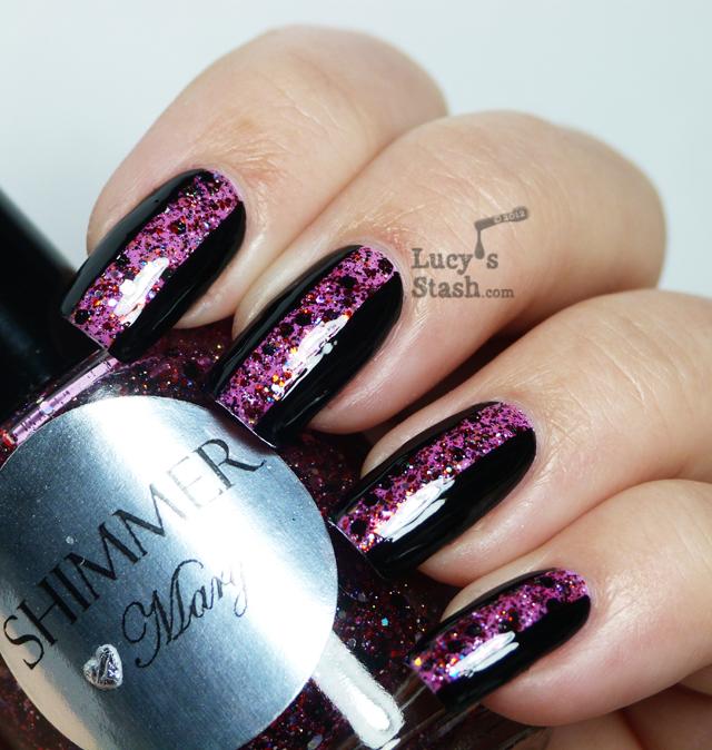 Lucy's Stash - Fashion Glitter Stripe