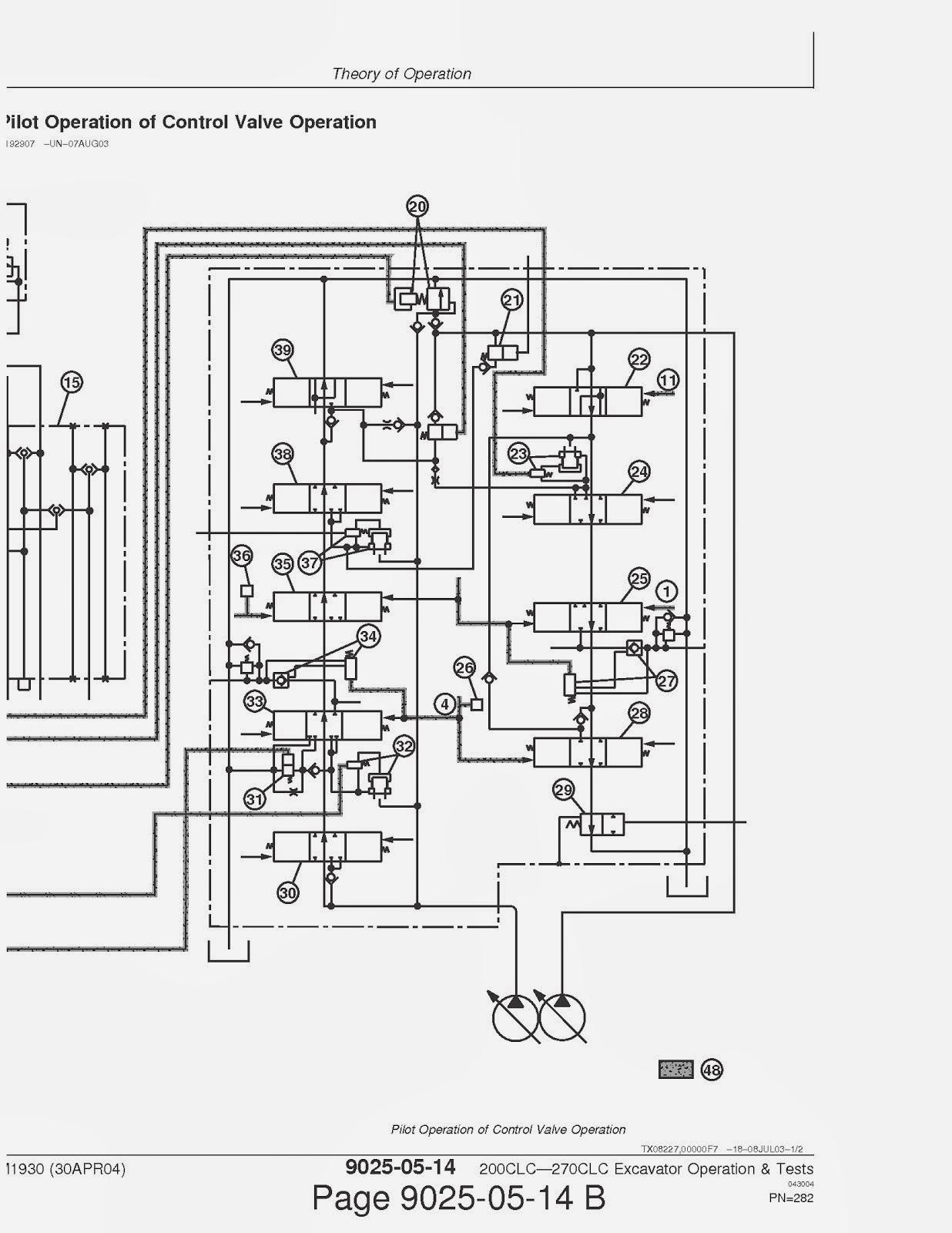 Free Owner  Service And Workshop Manual  John Deere 200clc