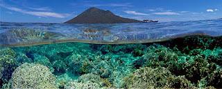 Inilah Taman Laut Nasional Bunaken yang Indah