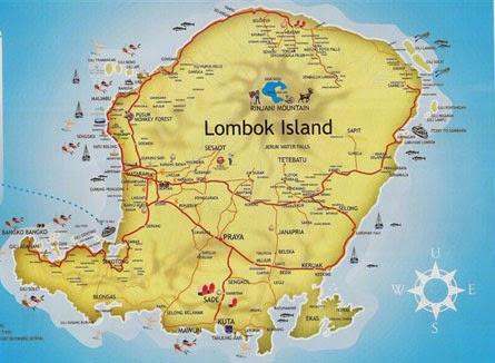 Pulau Lombok NTB