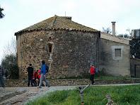 L'absis de la capella de Sant Jaume de Rifà