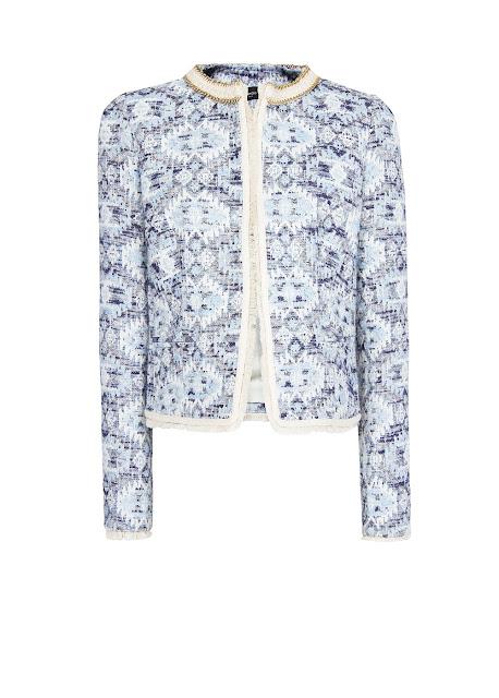 ethnic fabric jacket