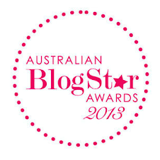 Winner - Australian BlogStar Awards 2013