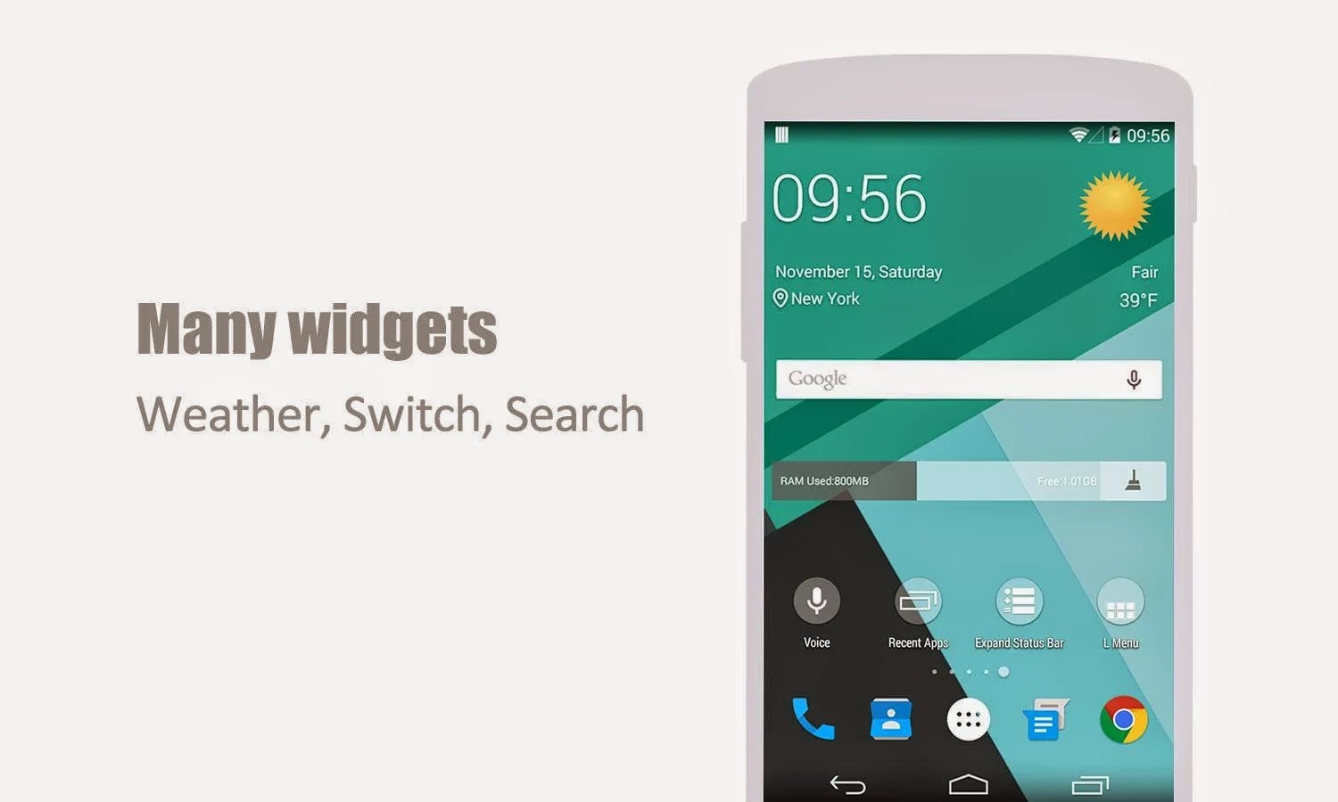 L Launcher PRO - Lollipop Launcher v1.6