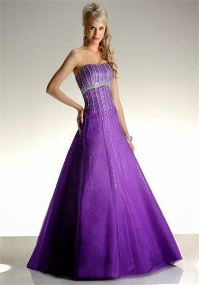 Abendkleider: Brautkleider im verschiedene Farben, um das ...