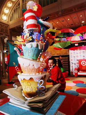 Cat In The Hat Wedding Cake by Colette 39s Cakes Colette Peters