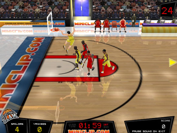 basketball match online