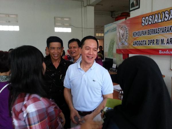 Arief Suditomo Berikan Bantuan ke Paud Permata Hati