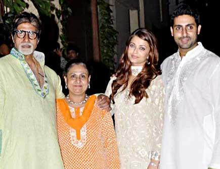 Abhishek Bachchan family