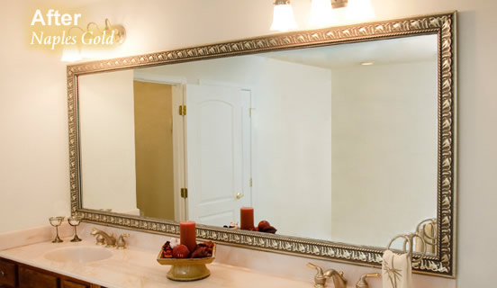 why settle for a bare mirror customize mirror framing is now in cebu you can now transform the looks of your bathroom living room and or bedroom