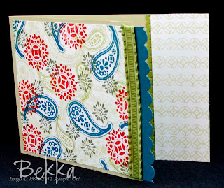 Spiced Paisley Card