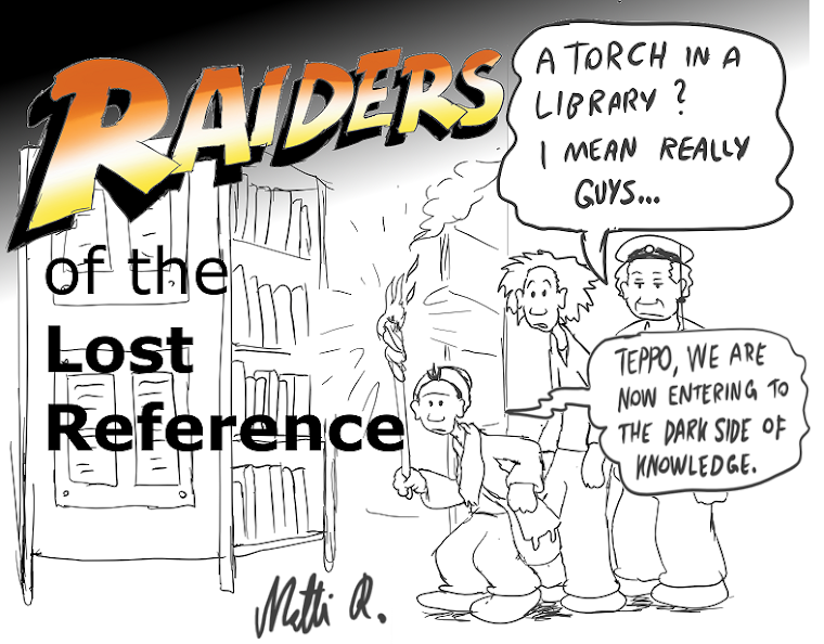 Raiders Of The Lost Reference