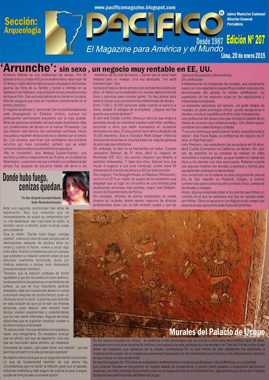 Revista Pacífico Nº 207 Arqueología