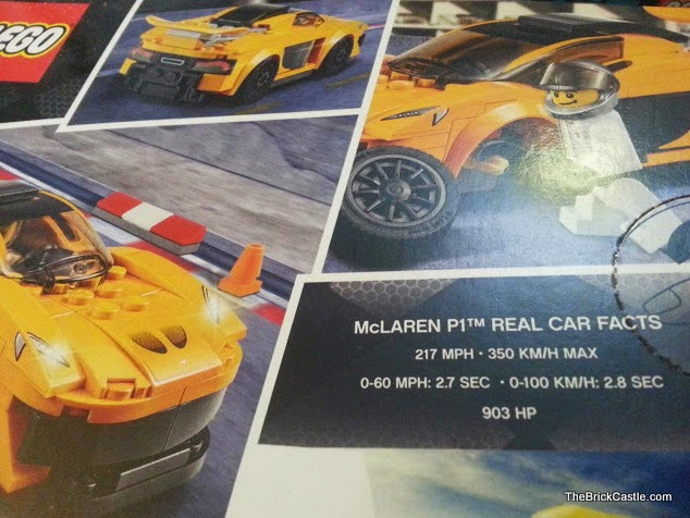 McLaren Hybrid Supercar P1 LEGO review