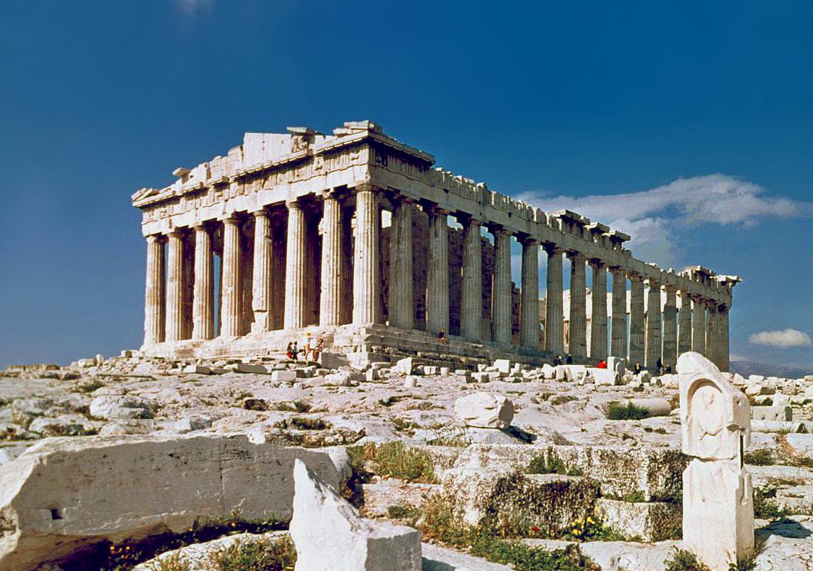 La acr polis de atenas la sabiduria de grecia for Arquitectura de grecia