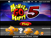 Monkey Go Happy 5 Walkthrough
