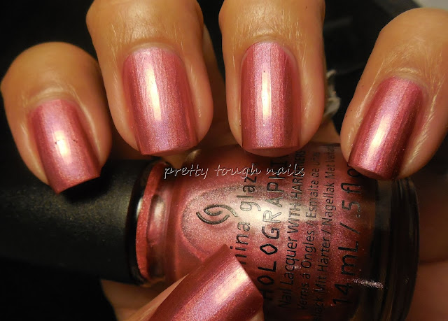 China Glaze Hologlam  Not In This Galaxy Light Tent