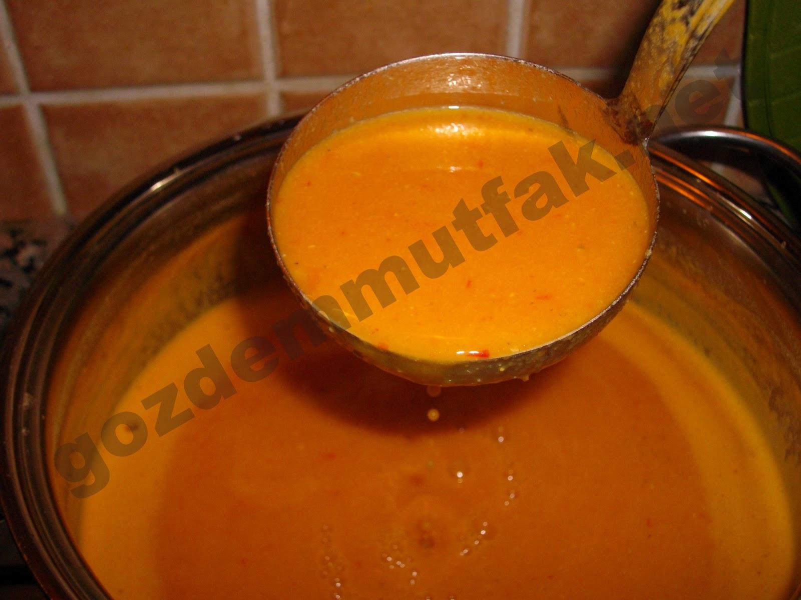 Havuçlu Mercimek Çorbası