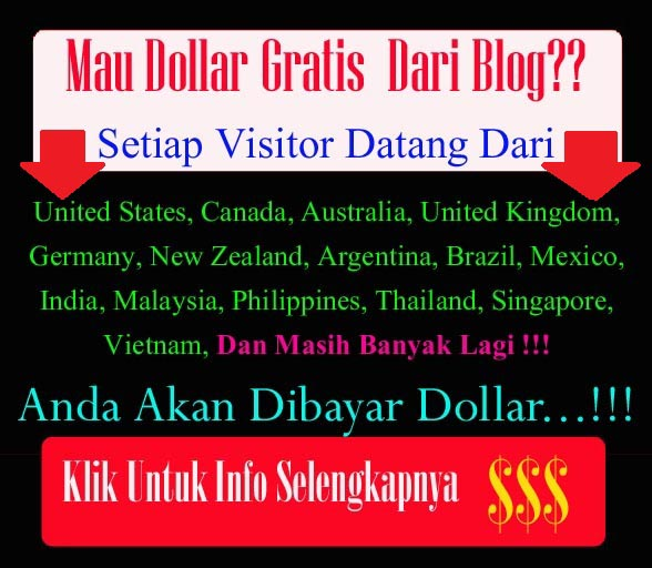 Dapat dollar pasang banner