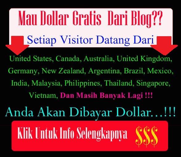 Pasang Banner dapat Dollar