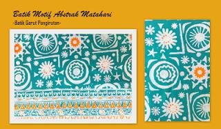 Model Batik Abstrak
