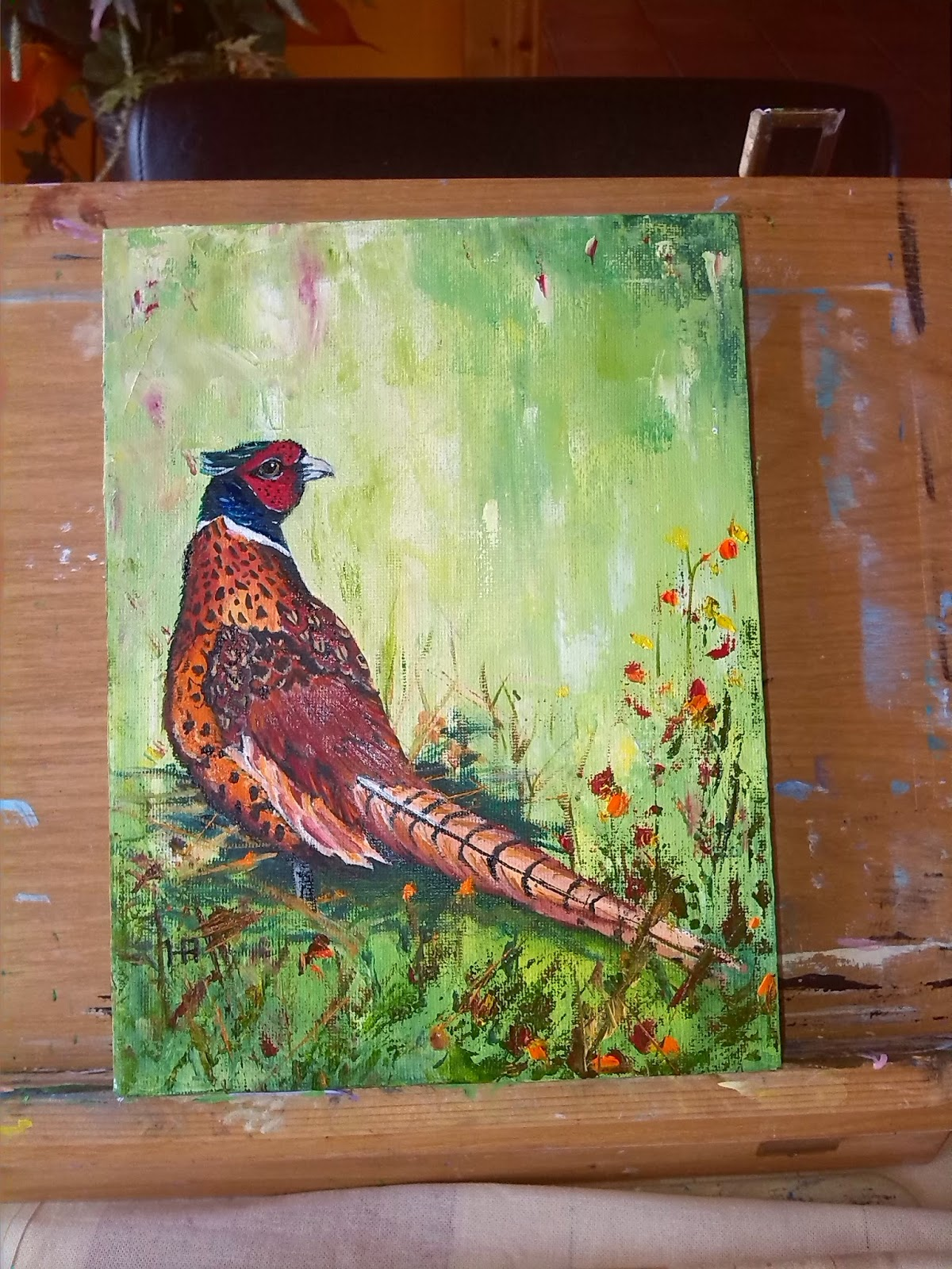 Paintings from henny aarts for Henny and paint