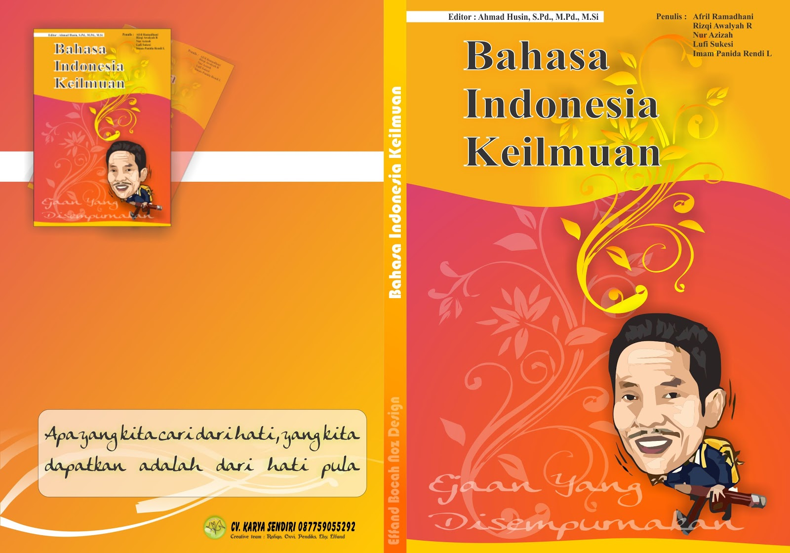 Membuat Cover Buku | Corel Draw X4/5
