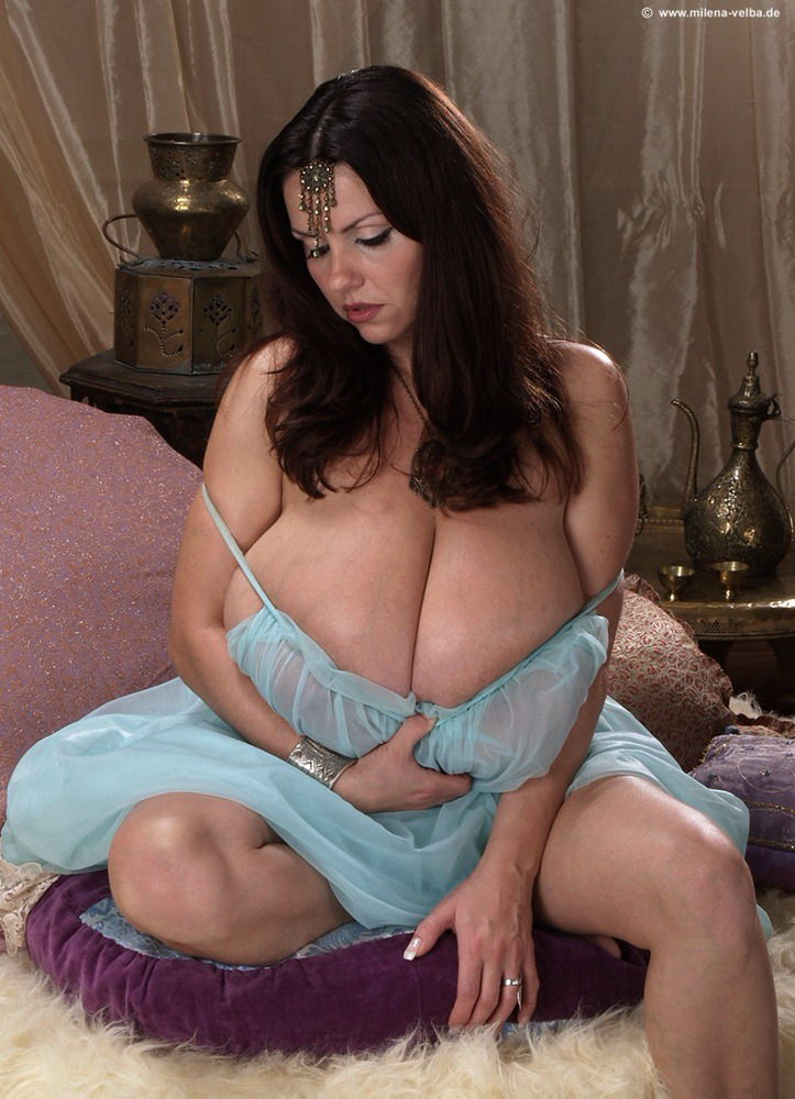 Milena Velba Busty Goddess 32J - big sexy boobs