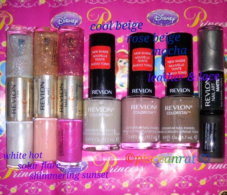 revlon parfumerie, nail art, colorstay polish