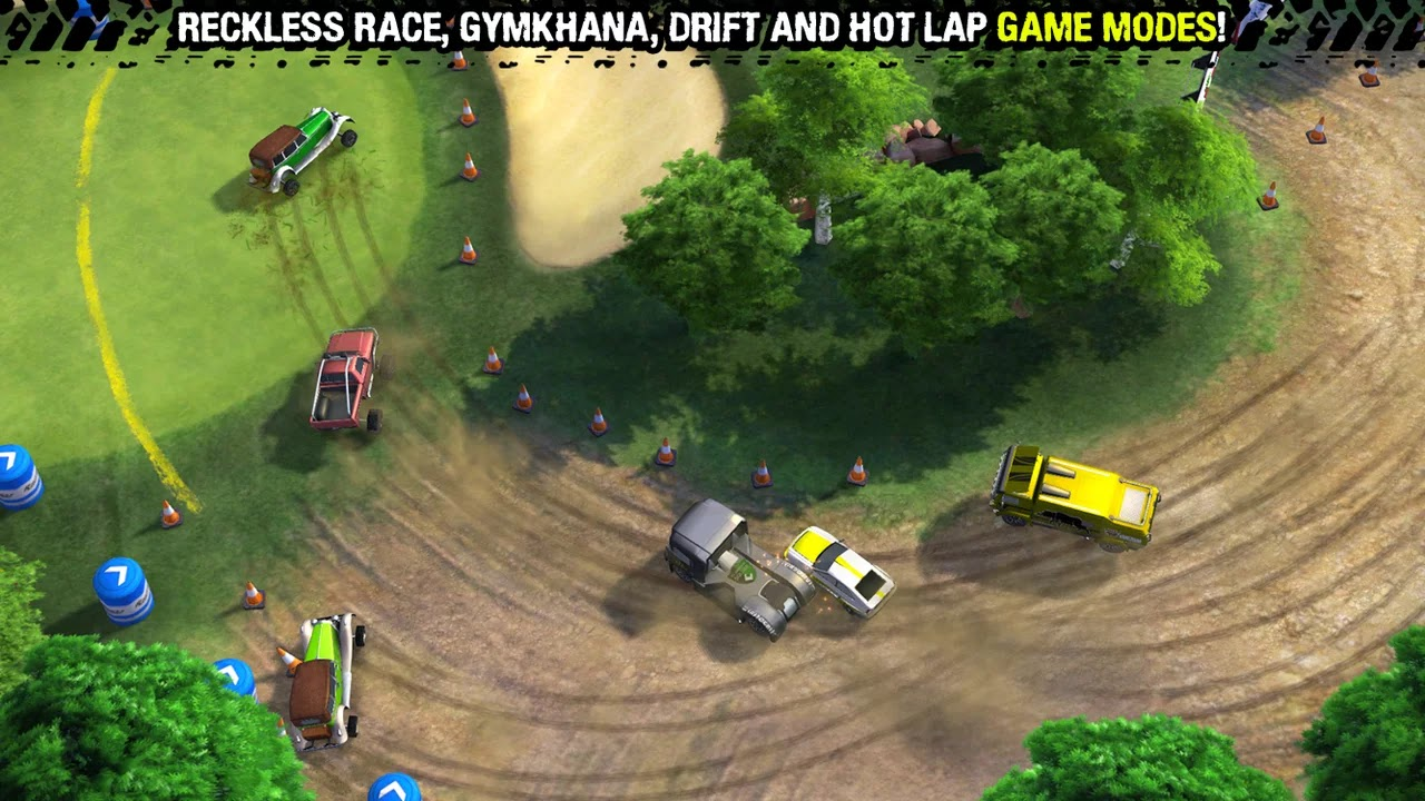 Reckless Racing 3 v1.0.3 Mod [Unlimited Money]