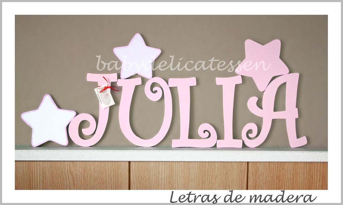 Baby delicatessen julia con estrellas - Plantillas de letras para pintar en madera ...