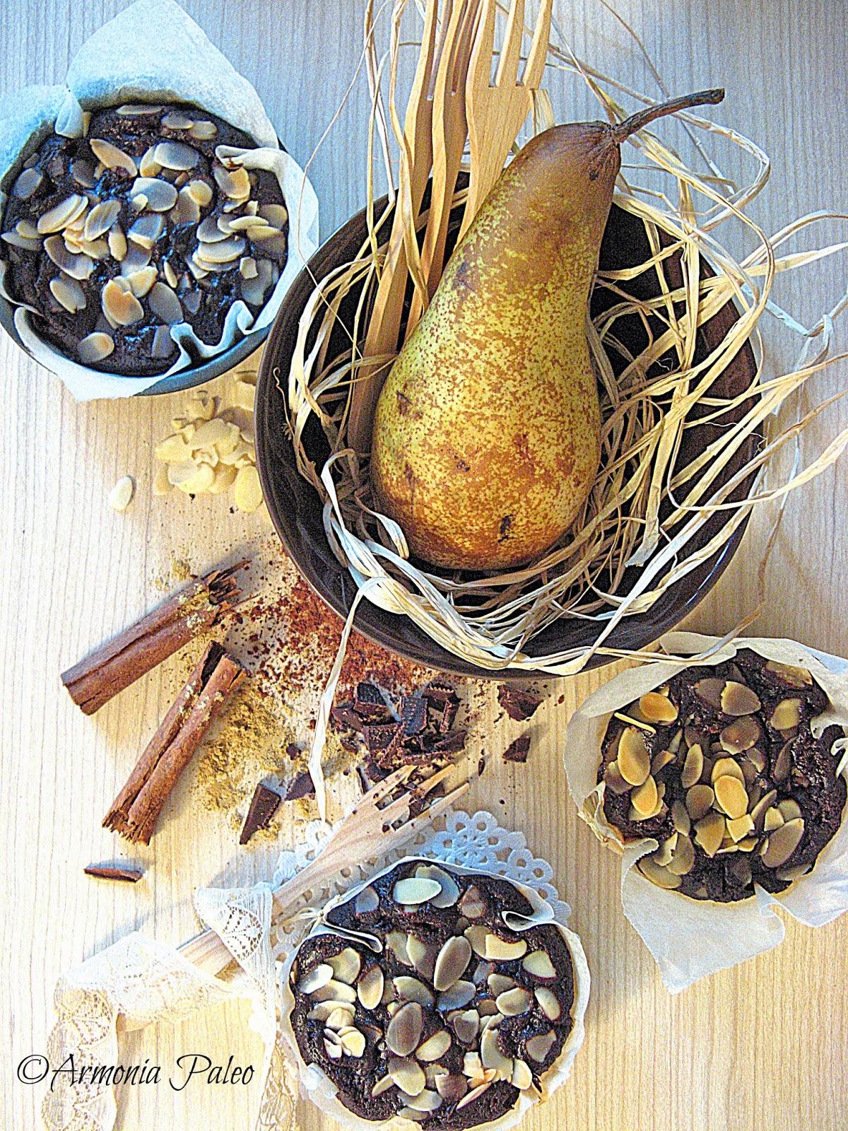 Tenerezze Cioccolato e Pere di Armonia Paleo