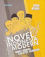 toko buku rahma: buku RINGKASAN DAN ULASAN NOVEL MODERN INDONESIA, pengarang maman s. mahayana, penerbit grasindo